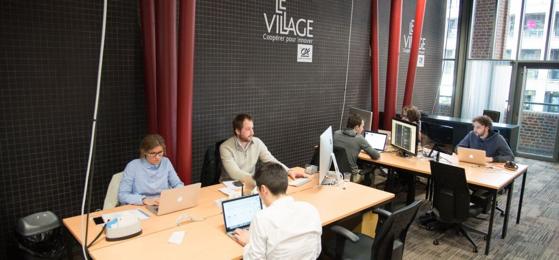 Le village du Credit Agricole - Euratechnologies