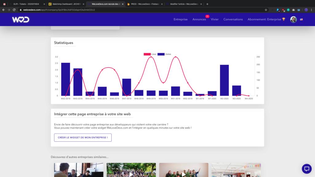Créer votre widget - capture d'écran