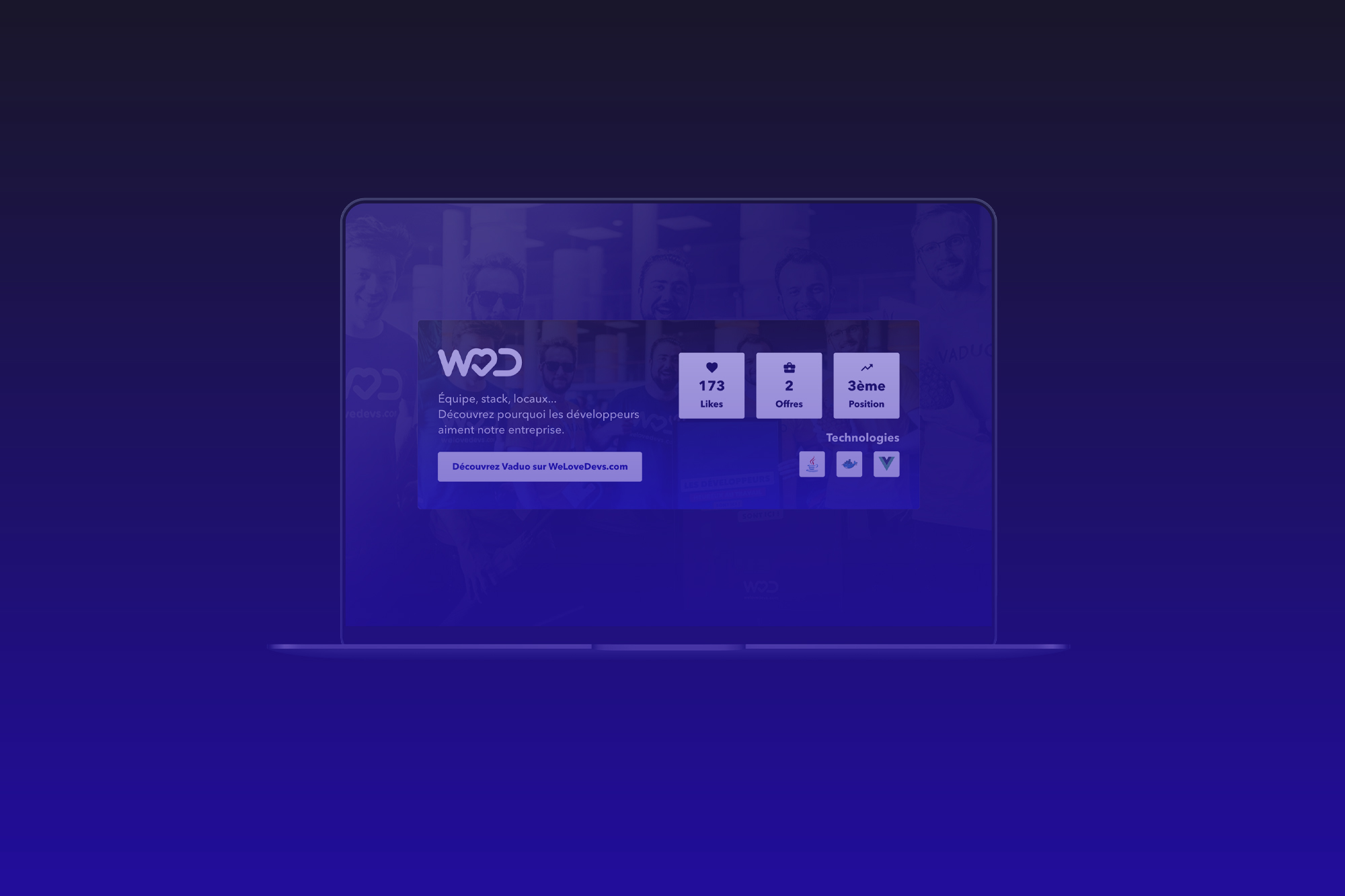 Recruteur – Ajouter le Widget WeLoveDevs sur mon site web